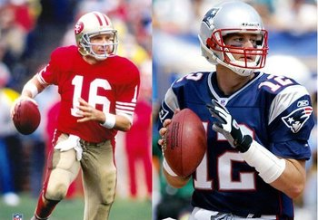 The G.O.A.T: Joe or Tom?