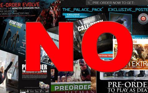 Please Stop Pre-Ordering Games