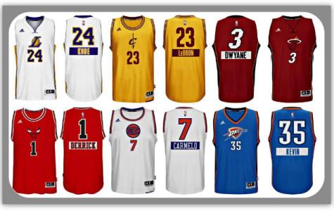 NBA Christmas Unis TOP TEN